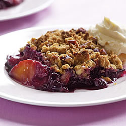 Blueberry Pistachio Crisp